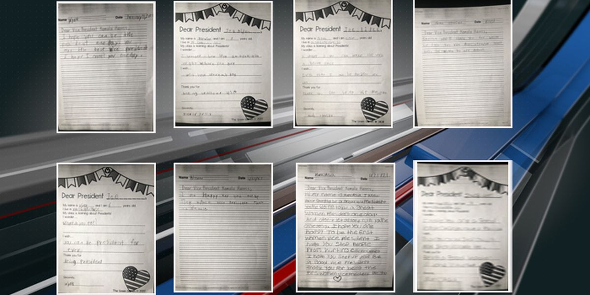 N. Charleston elementary students express happiness, hope in letters to Biden, Harris