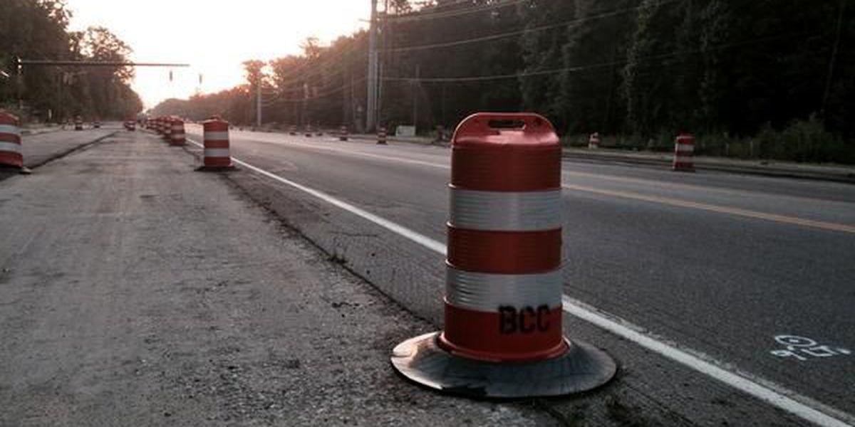 Frustration grows as Bees Ferry Road construction is behind schedule