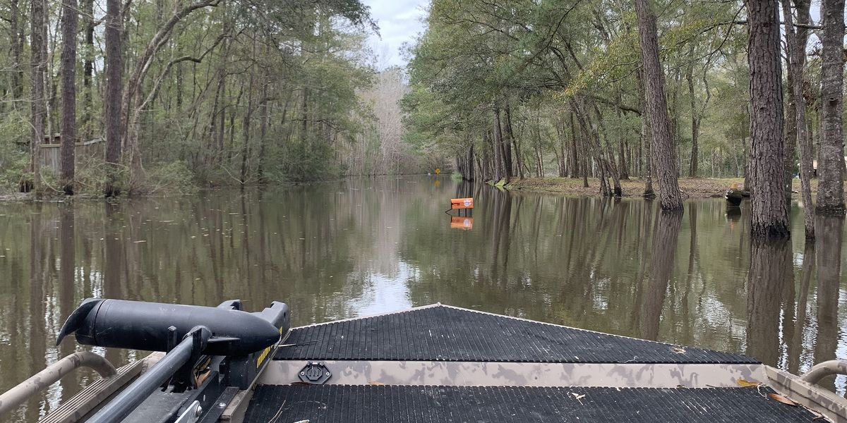 Flooding in Georgetown follows Santee Cooper's controlled spilling operation at Santee Dam