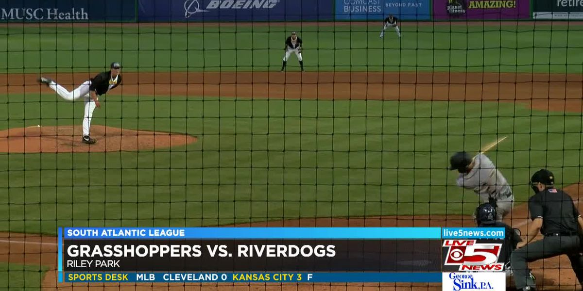 VIDEO: Riverdogs get shutout by Grasshoppers for second time this season