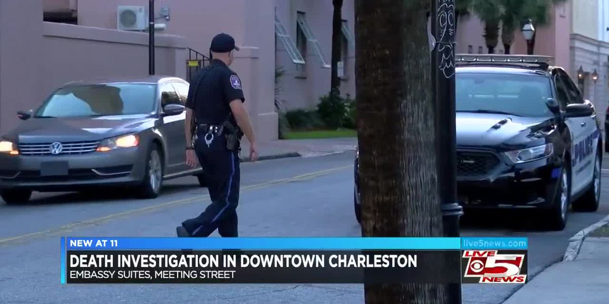 VIDEO: Police investigate death at Embassy Suites in Downtown Charleston