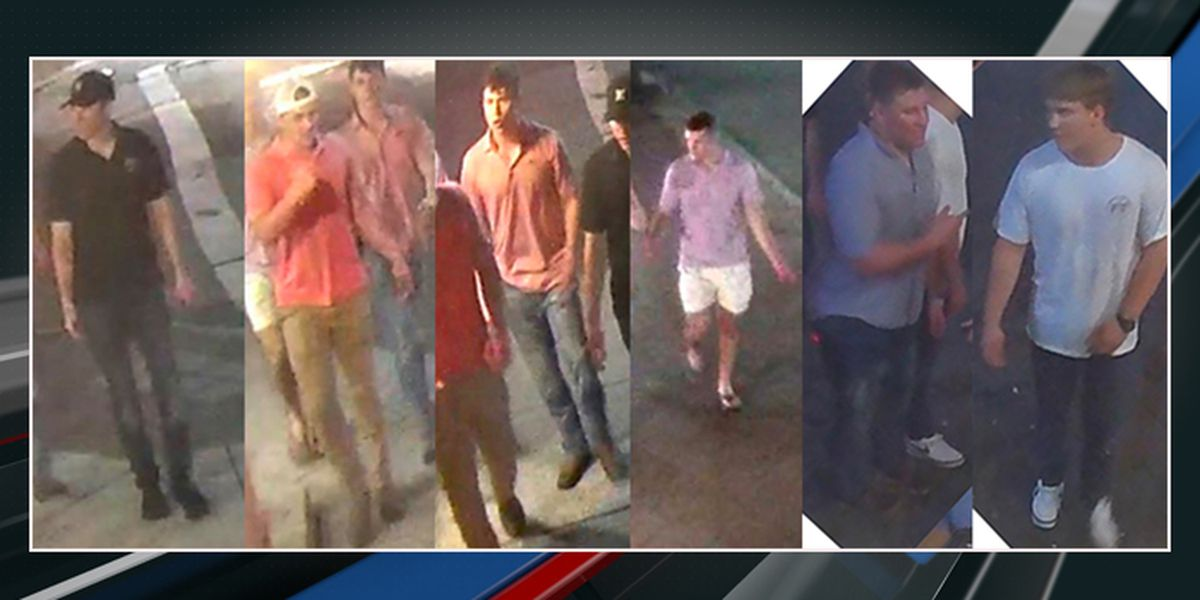 Police release pictures of suspects wanted in downtown Charleston assault