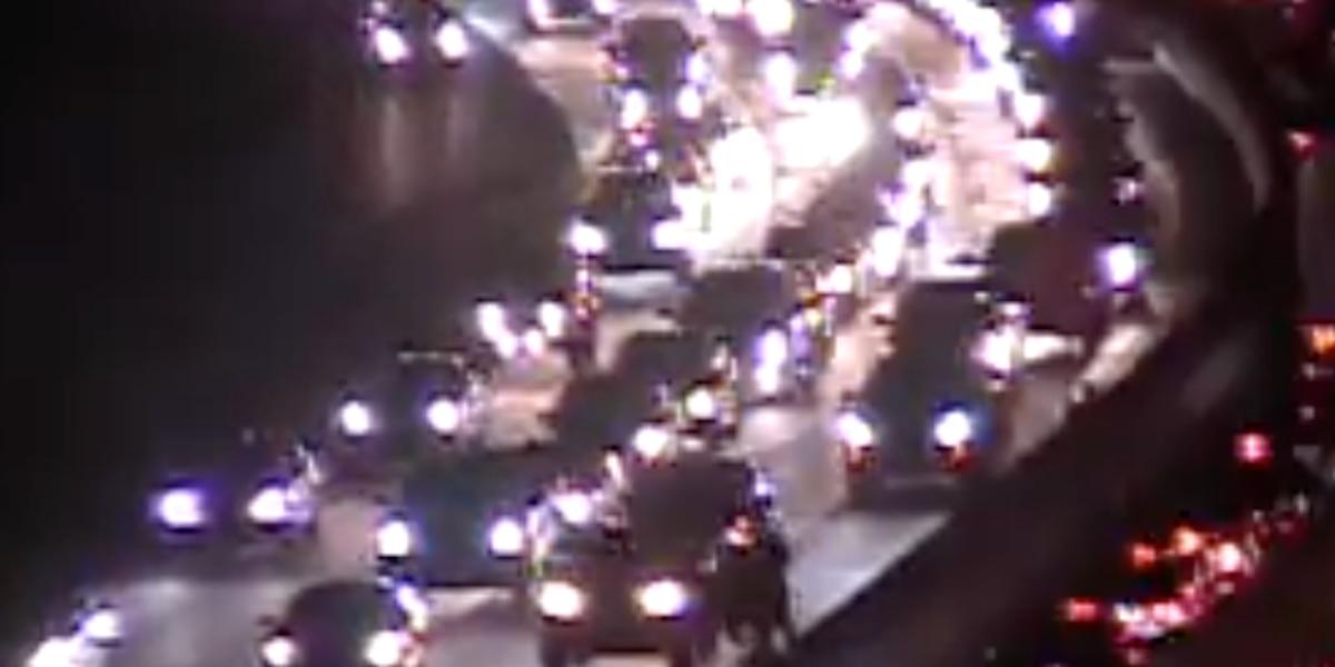 Emergency crews responding to crash on I-26 near Cosgrove Avenue