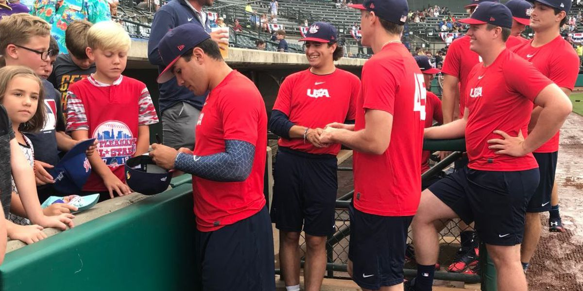 USA-Japan collegiate game at Riley Park rained out