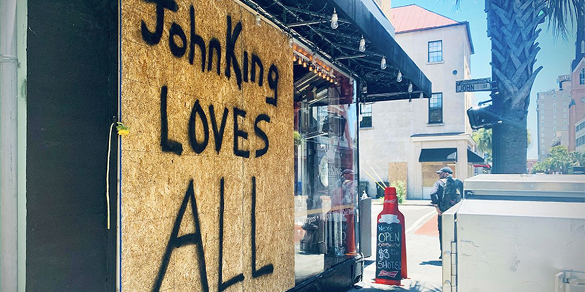 Charleston waives building permit fees related to repairs following riots