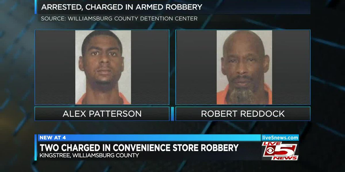 VIDEO: 2 charged in Kingstree convenience store robbery