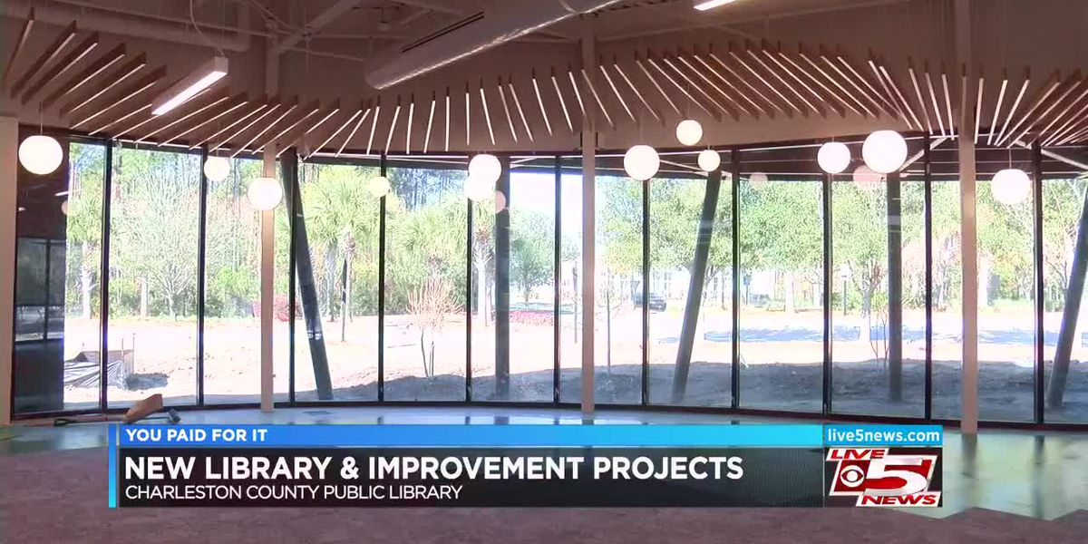 You Paid For It! New library set to open in June