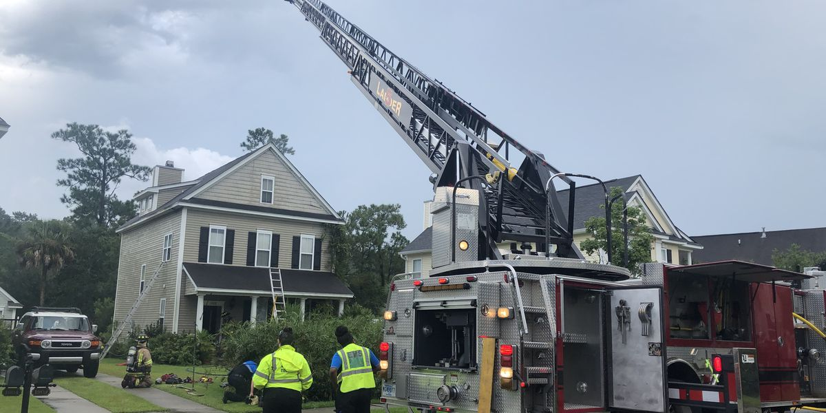 House fire in Mt. Pleasant caused by lightning strike