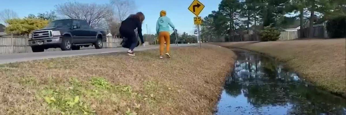 Roadside trash causes mom and daughter to take action