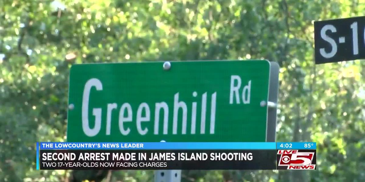 Deputies arrest second teenager in James Island shooting