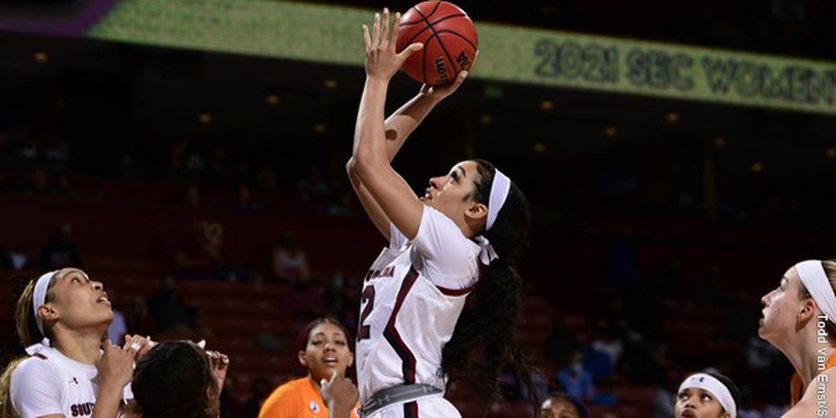 No. 7 S Carolina women top No. 14 Tennessee, reach SEC final