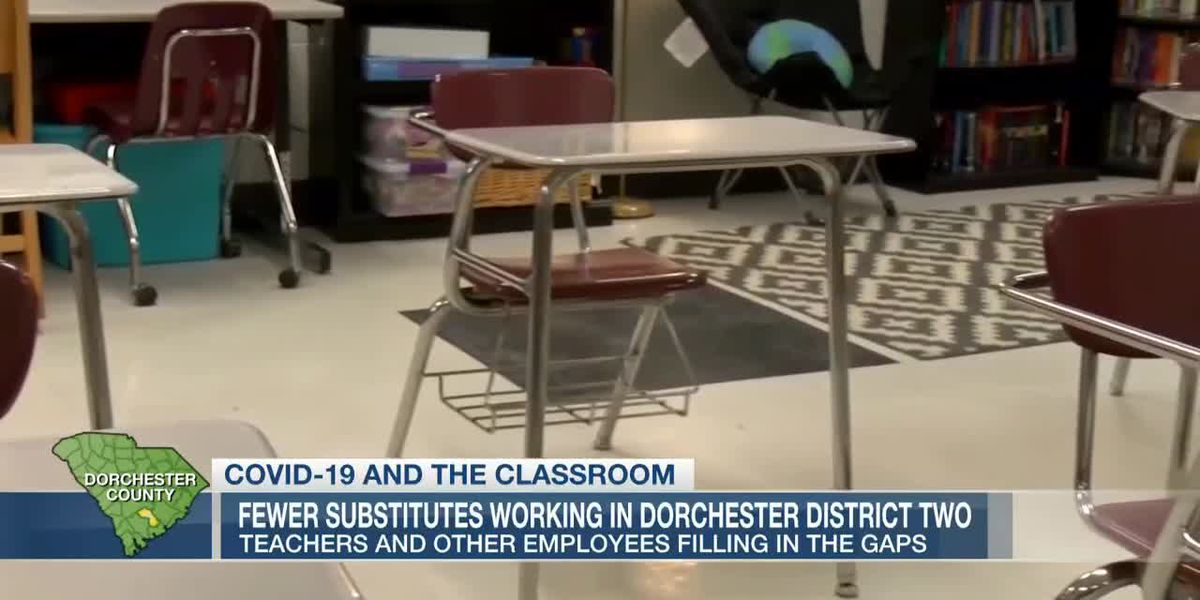 VIDEO: Dorchester District 2 looks to fill gaps left by fewer substitutes teachers working