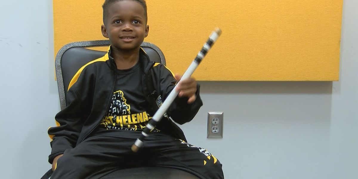 5-year-old viral drumming sensation offered college band scholarship