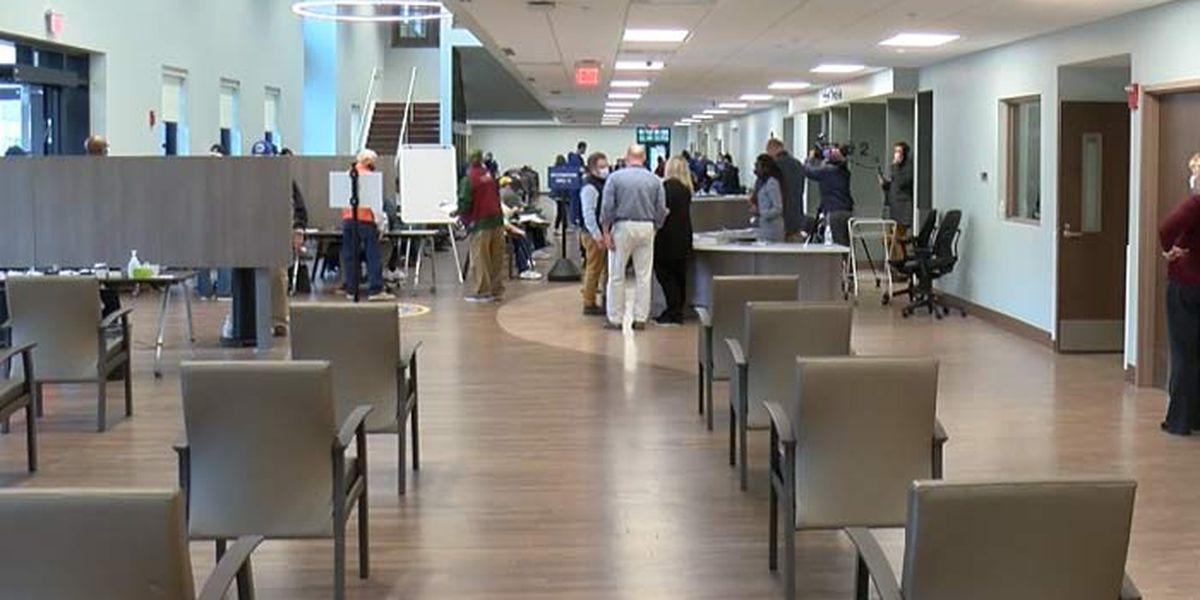 Charleston VA opens new center for COVID vaccinations