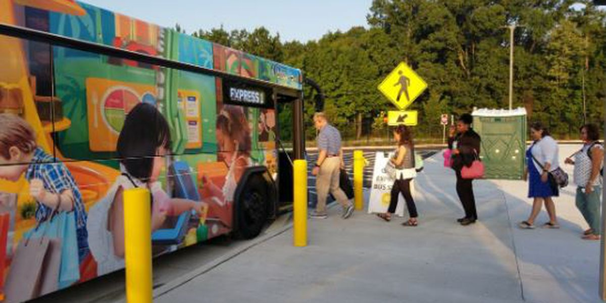 New CARTA park-and-ride location opens in North Charleston