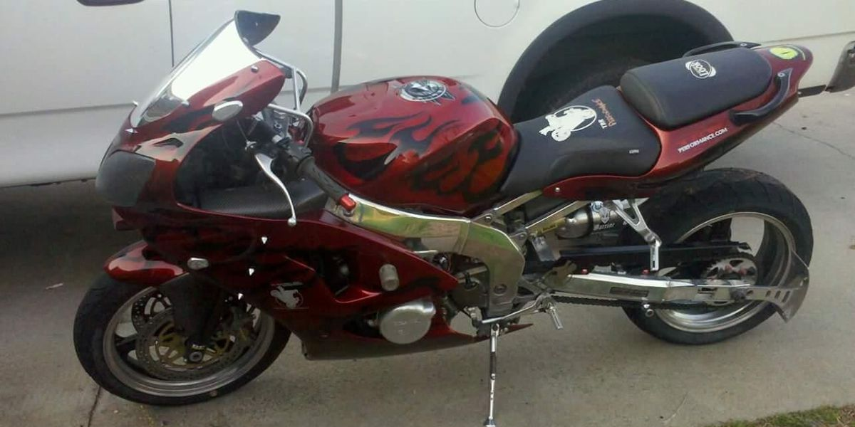 Authorities in Georgetown County searching for stolen motorcycle