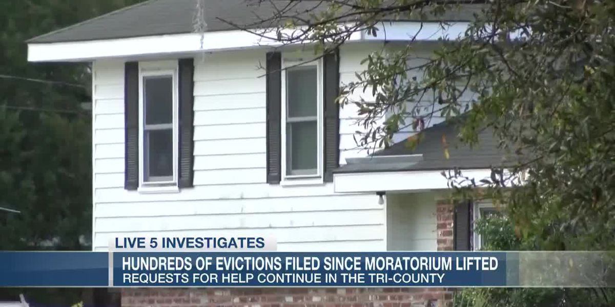 VIDEO: Hundreds of evictions filed in the Tri-County since moratorium lifted