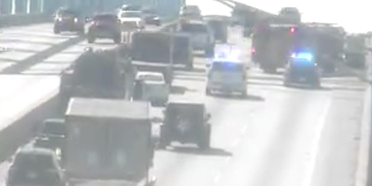 Don Holt westbound lanes back to normal following reported vehicle fire