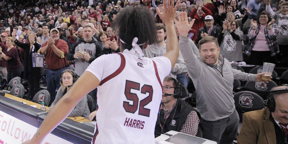 Gamecocks capture their first win vs. UConn in program history