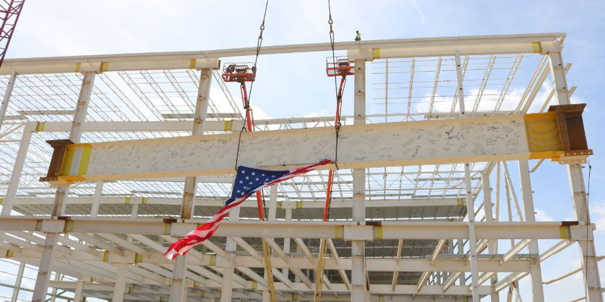 Mercedes plant reaches construction milestone in expansion