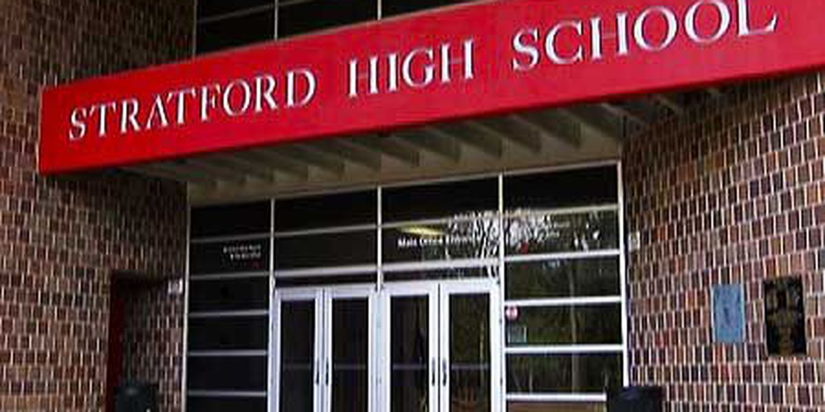 Sign vandalized at Stratford High School, police investigating