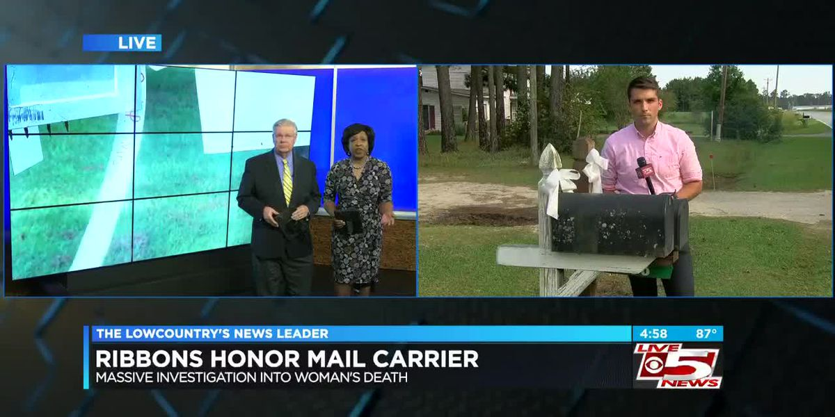 VIDEO: White bows honor slain mail carrier in Williamsburg County community