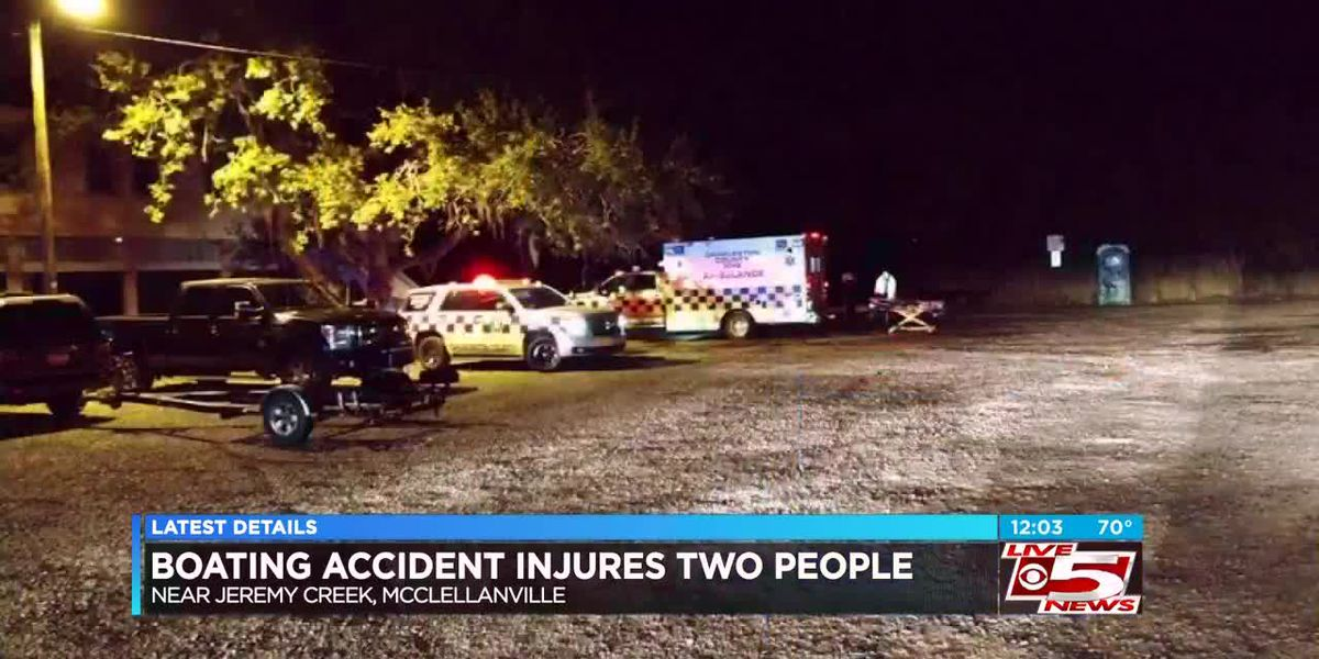 VIDEO: Boat accident near McClellanville sends 2 to hospital