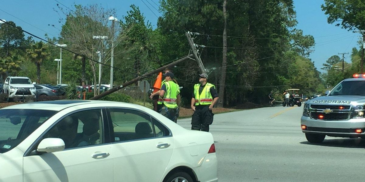 FIRST ALERT TRAFFIC: More roads closed in West Ashley due to downed power line
