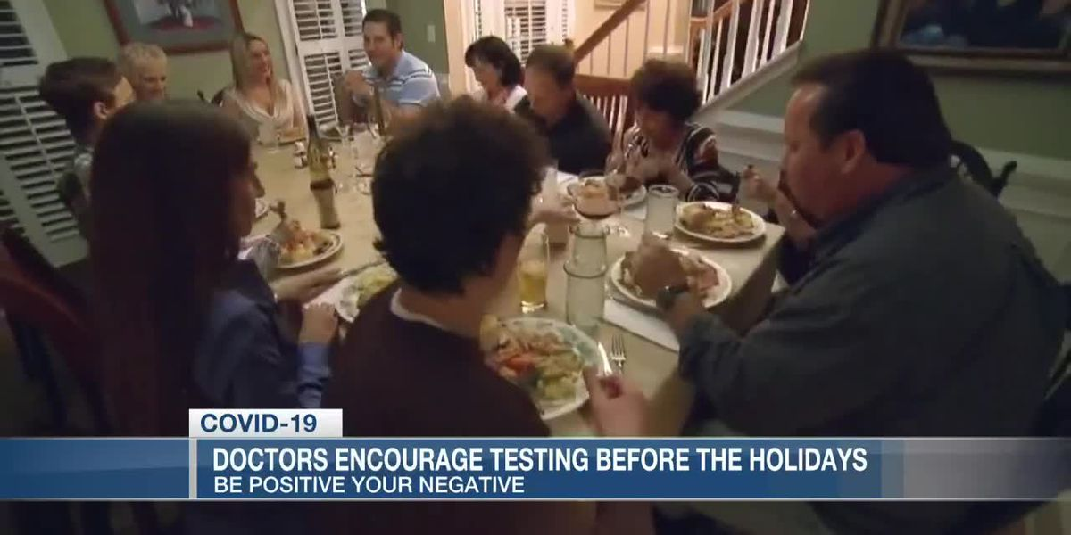VIDEO: Doctors encourage people to get tested for COVID-19 before the holidays