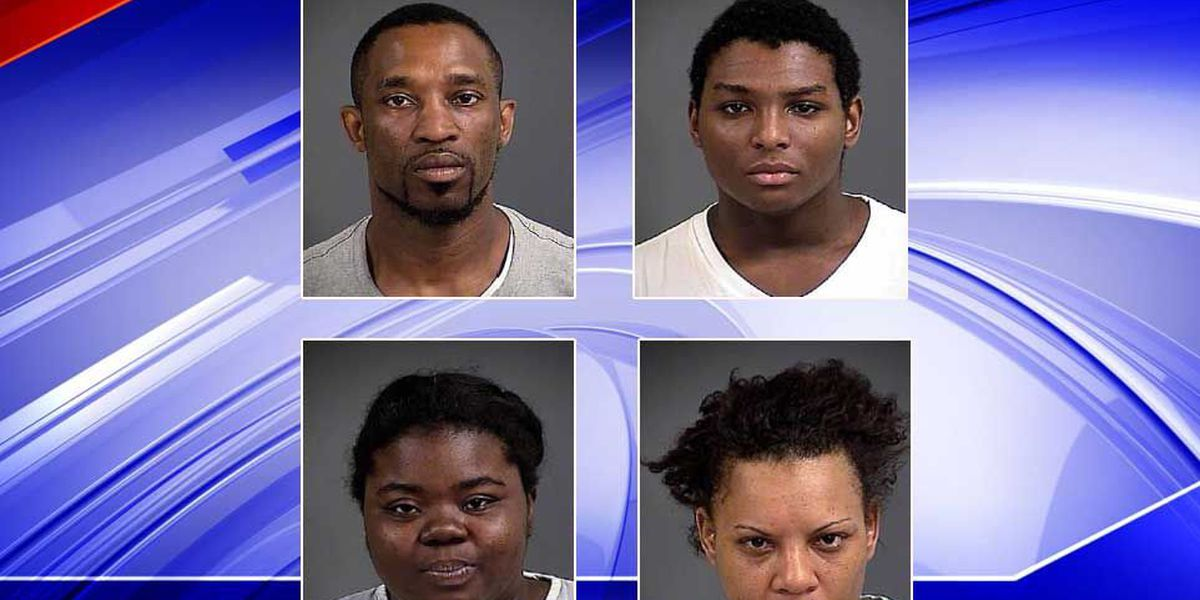 Four arrested in connection to vehicle break-in in Mount Pleasant
