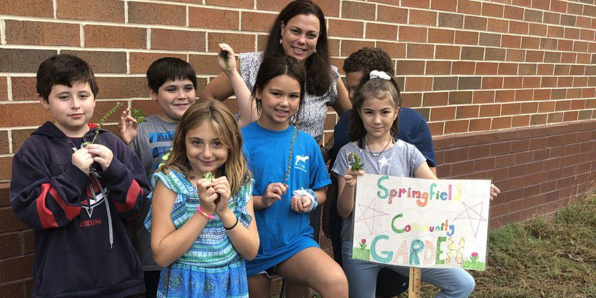 Classroom Champions: Kathryn Sanyal wants garden gear for Springfield students