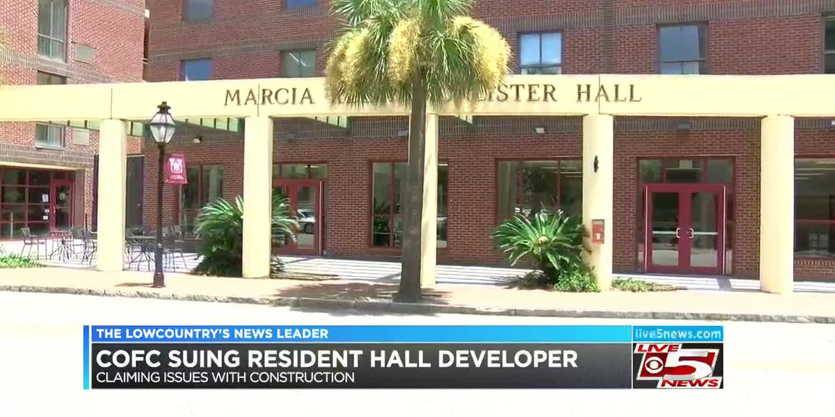 VIDEO: College of Charleston sues residence hall developer claiming construction deficiencies