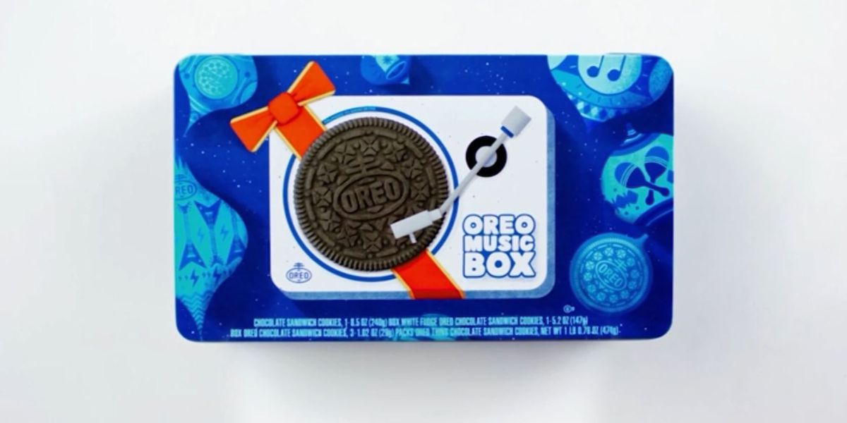 Oreo Music Box: It plays music from your cookies