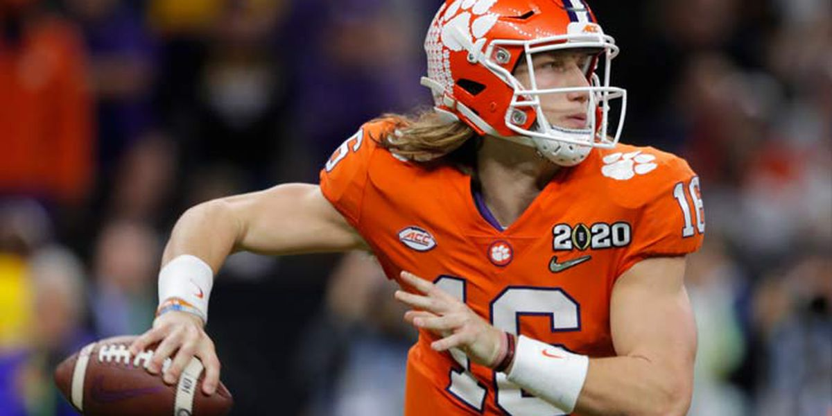 Ex-Clemson QB Lawrence to have surgery before NFL draft