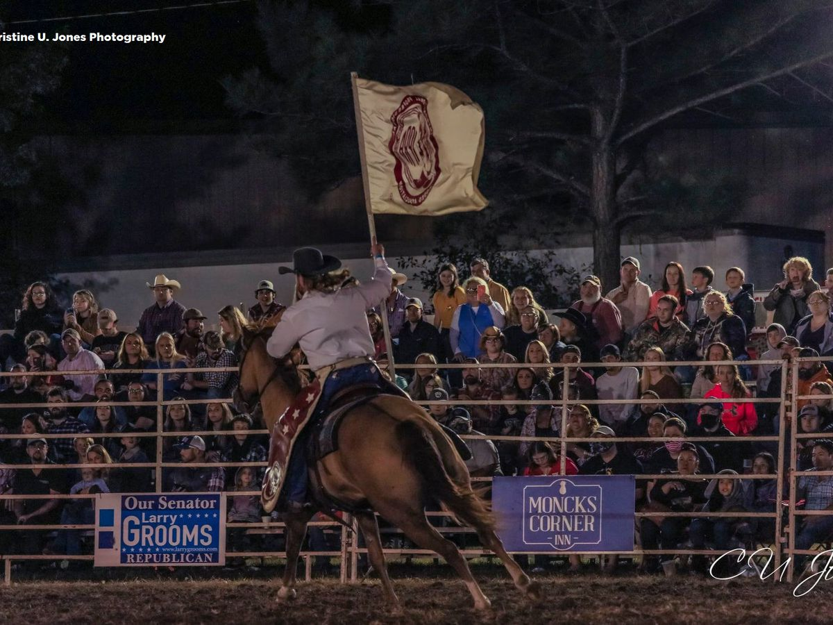 Packed Moncks Corner rodeo event raises COVID-19 concerns
