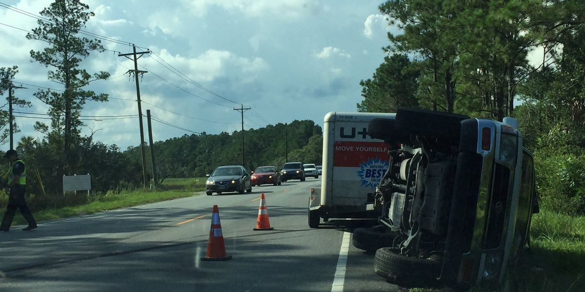 Highway 41 reopened following rollover crash in Mt. Pleasant