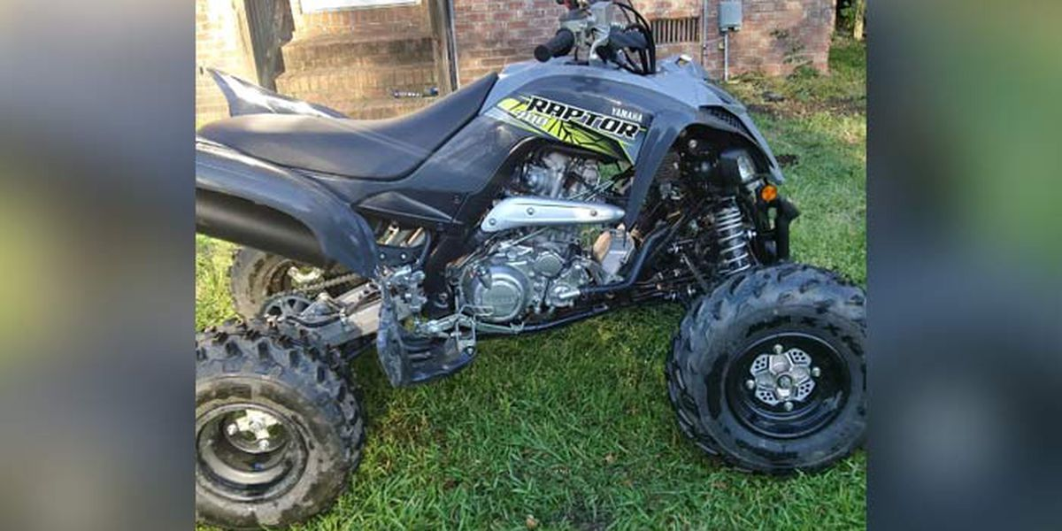Deputies seeking information on stolen 4-wheeler