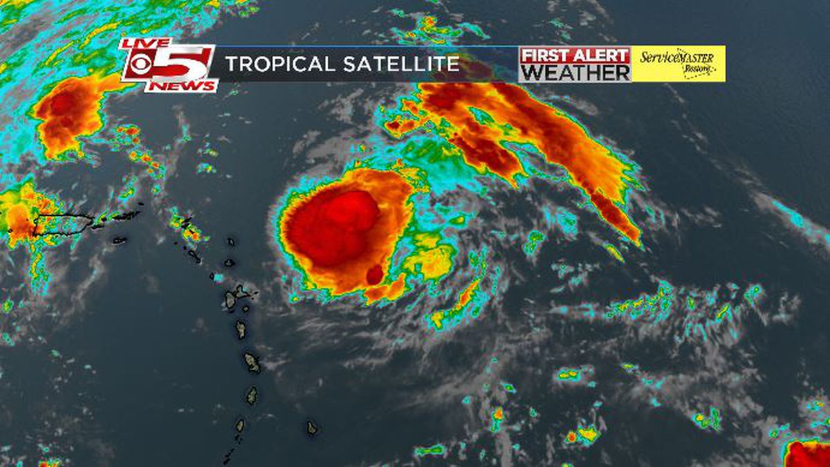 FIRST ALERT: Hurricane Jerry maintains strength, expected to stay off U.S. coast