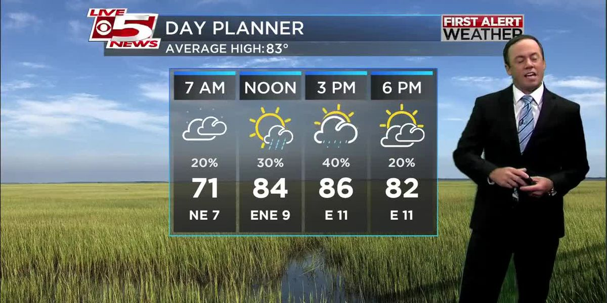 VIDEO: Your Monday morning forecast