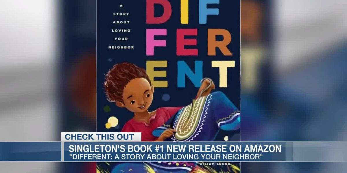 VIDEO: Book by son of Emanuel 9 victim is #1 new release on Amazon