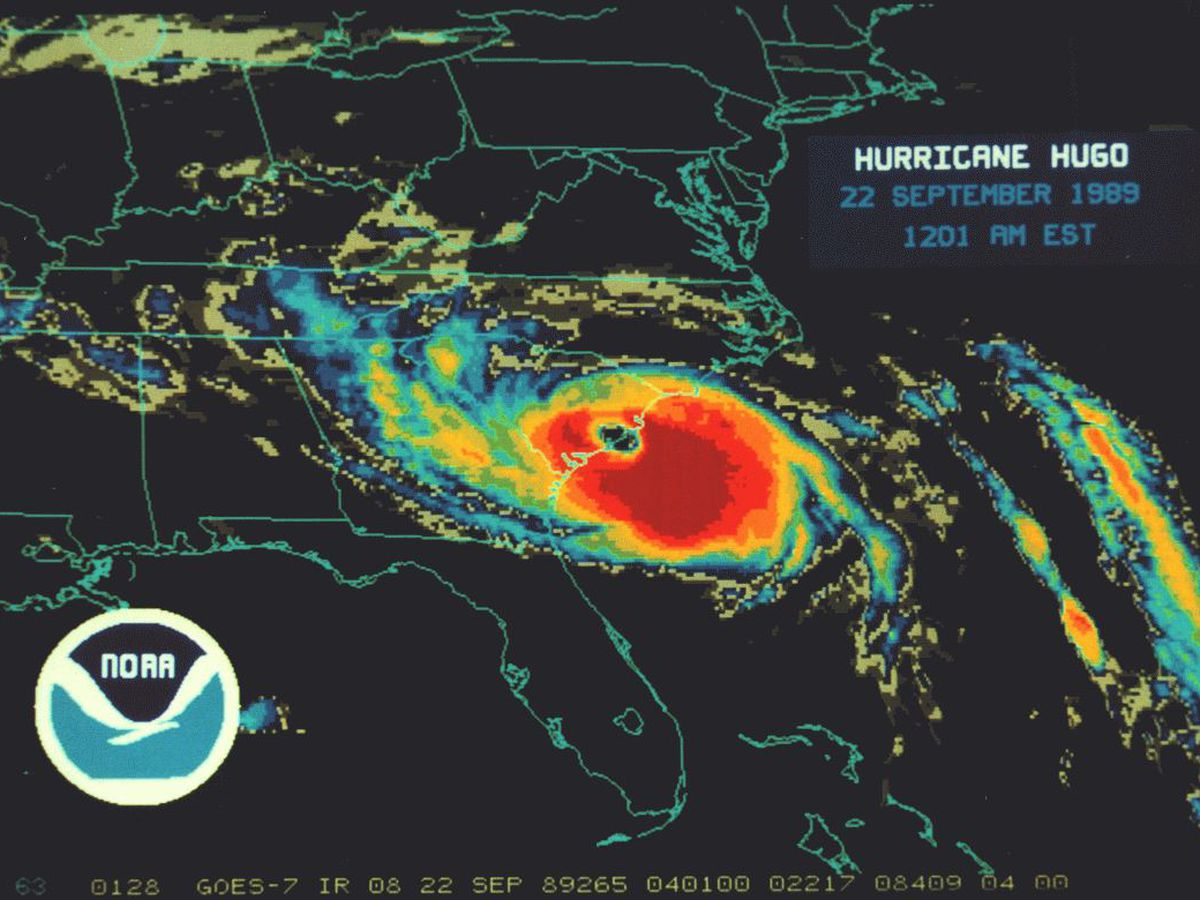 Hurricane Hugo made landfall 30 years ago. It's still a night some will never forget.