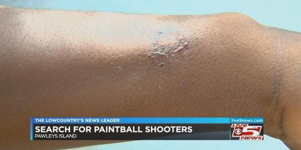 Deputies investigating three assaults involving paintball guns