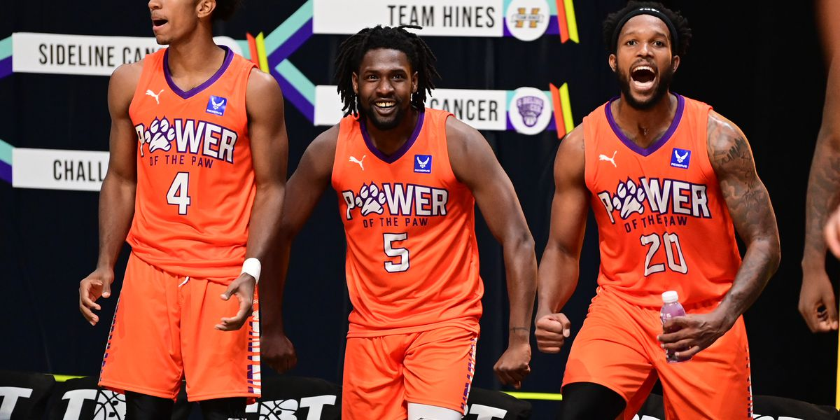 Team of Clemson alums falls in The Basketball Tournament
