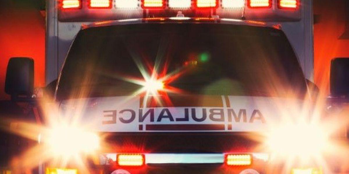 Crews respond to crash with entrapment near Brookgreen Gardens