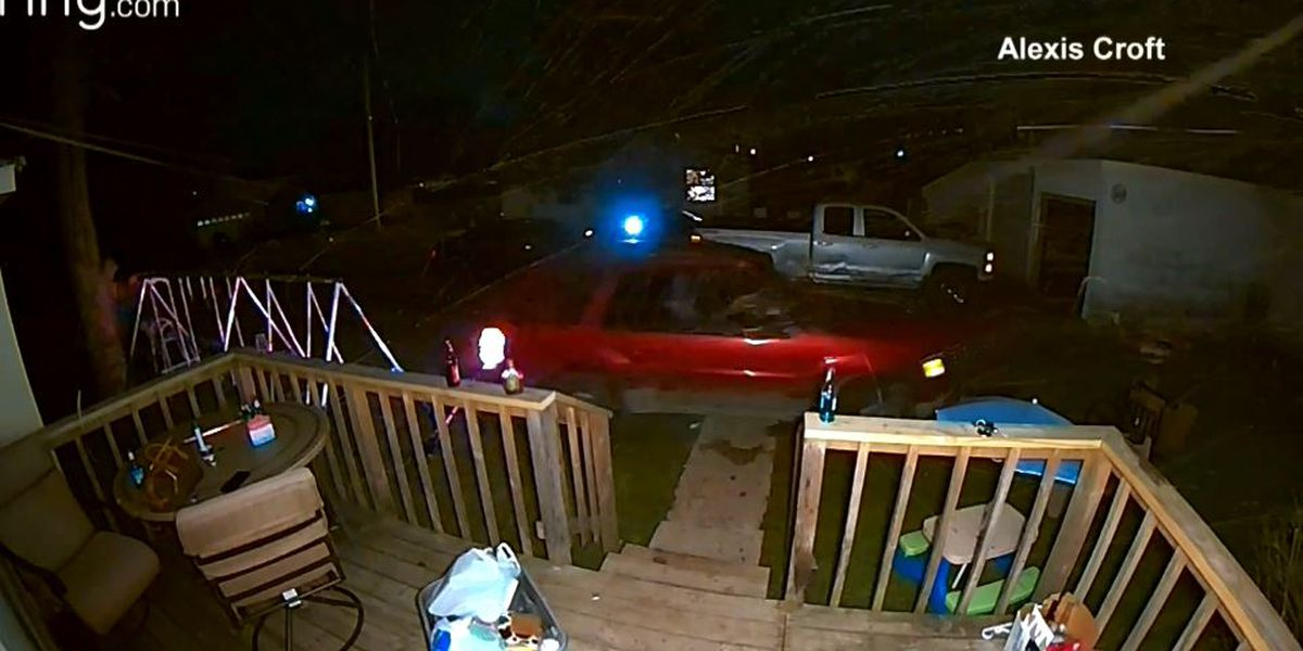 Mom dragged down street by SUV after man drives through Mich. yard
