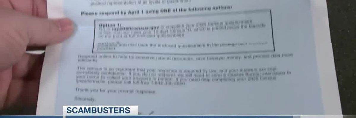 VIDEO: Live 5 Scambusters: Be counted but don't be scammed by the 2020 Census