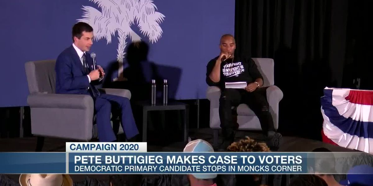 VIDEO: Pete Buttigieg focuses on policies for African American voters in Berkeley County event