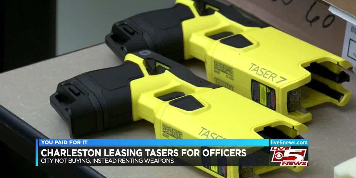 VIDEO: You Paid For It: Police tasers lease