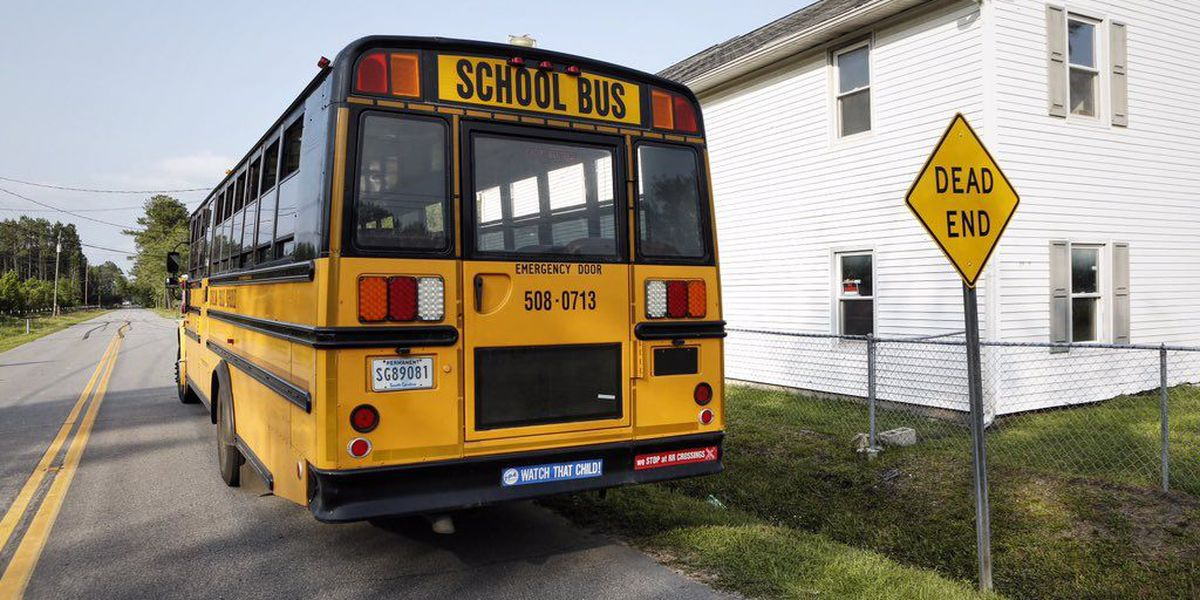 Charleston school bus involved in accident, minor injuries reported