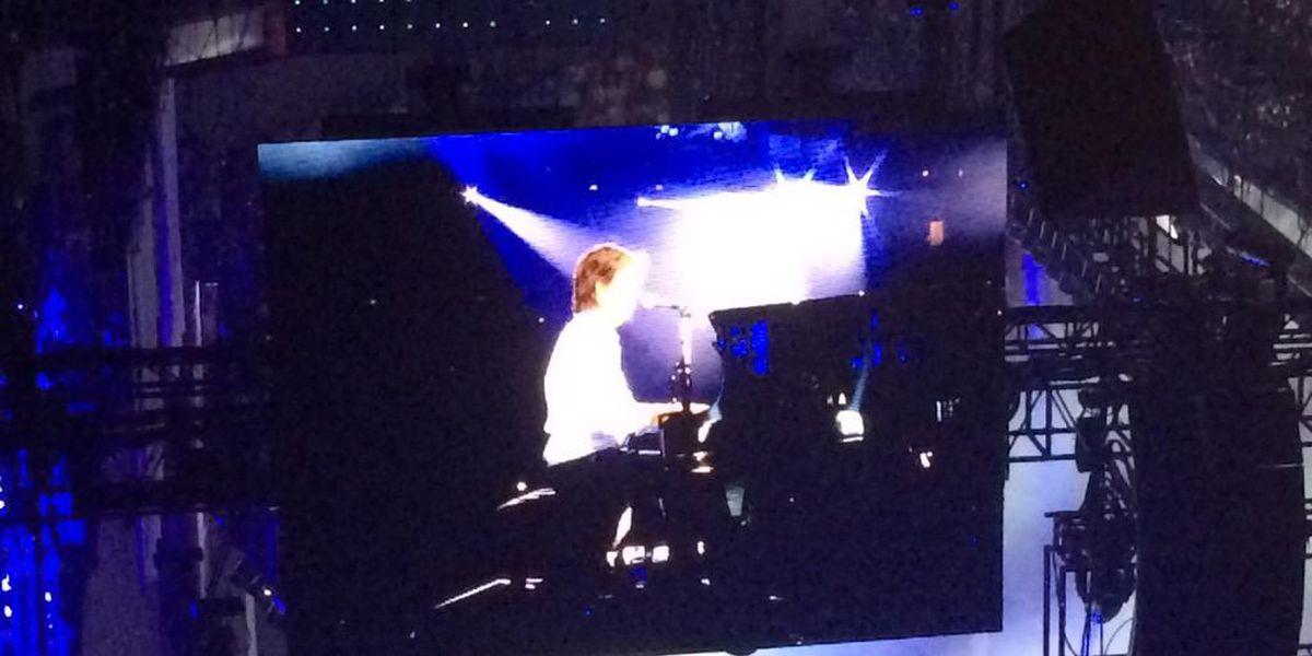 Paul McCartney dedicates 'The Long and Winding Road' to Emanuel 9